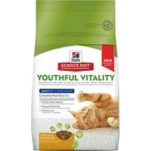 Adult 7+ Youthful Vitality Chicken Recipe Dry Cat Food