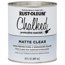 Chalked Spray Paint, 30 oz - Top Coat