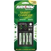 4AA Smart Charger with Low Batteries