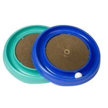 Assorted Colors Turbo Scratcher Cat Toy  - 16