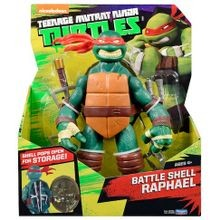 Teenage Mutant Ninja Turtles Battle Shell 11 inch Raphael Figure