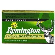 20 Gauge Remington Premier  Copper Solid HP Sabot Slug