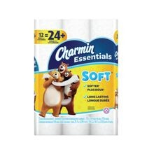 Essentials Soft Toilet Paper - 12 Rolls
