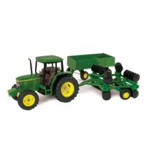 1/32 Die-Cast 6410 Tractor With Wagon & Disc