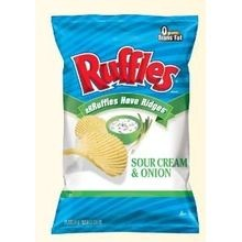 Sour Cream and Onion Chips, 9.5 oz