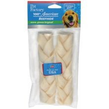 USA Raw Hide Braid Dog Chew
