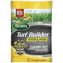 Turf Builder Weed and Feed 5000 sq. ft Fertilizer