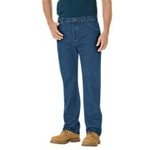 Men's Regular Straight Fit 6-Pocket Denim Jean