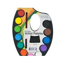 12 Color Artist Palette