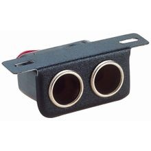 12-Volt Dual Cigarette Lighter Receptacle
