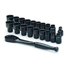 20 Pc. X6™ Pass-Thru® Ratchet & Socket Set