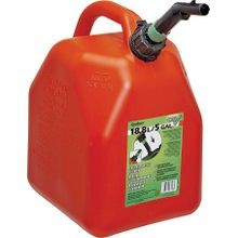 Jerry Gas Can, 5 Gal, 11 1/2 In L X 9 9/10 In W X 15 7/10 In H, Hdpe