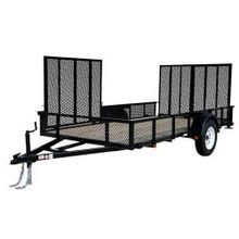 12' Dual Gate ATV Trailer