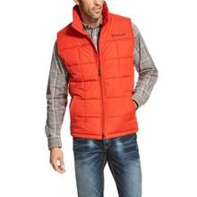 Men's Crius Insulated Polyfill Tiger Paw Full Zip Vest