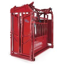Cattleman Squeeze Chute with Auto Gate