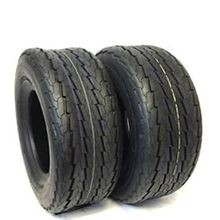 Power King Load Range C 6 Ply Rated Highway Speed DOT Approved Trailer Tires - 18.5X8.50-8 8