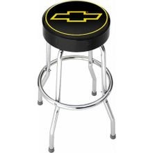 Chevy Logo Garage Stool