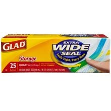 Wide Seal Storage Bags