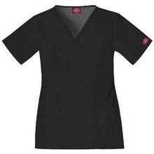 Ladies' Empire Waist 2-Pocket Scrubs Top