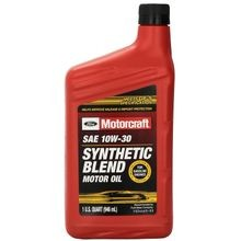 SAE 10W30 Premium Synthetic Blend Motor Oil - Qt