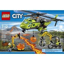 City: Volcano Explorers - Volcano Supply Helicopter Building Kit (330 Piece)