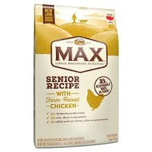 Max Senior Recipe with Farm-Raised Chicken Dry Dog Food