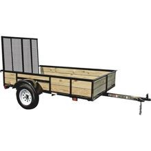 5'X 8' Wood Sided Utility Trailer