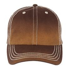 Faded Wash Mens Cap, Cigar