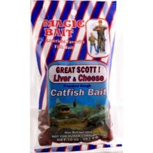 10 Oz Magic Bait Great Scott Cheese Catfish Bait