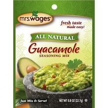 All Natural Guacamole Seasoning Mix
