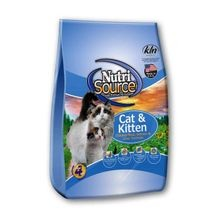Cat & Kitten Chicken & Rice Formula Dry Cat Food