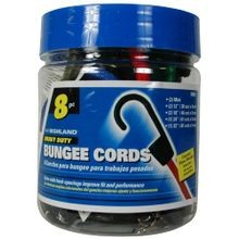 Bungee Cord Assortment Jar - 8 piece