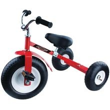 Pedal Trike, 13 In Front Wheel, 10 X 3 1/2 In Rear Wheel