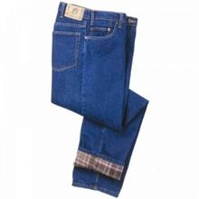 Men's 5 Pocket Flannel Lined Jean