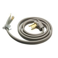 6' Dryer 30 Amp 3 Prong Cord