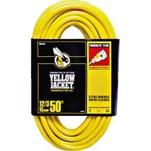 50-Foot 12/3 Heavy-Duty Contractor Extension Cord