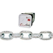 Cambell 014 3526 Proof Coil Chain, 5/16 In Chain, 75 Ft L, 1900 Lb Load, 30 Grade, 1.27 In X 0.47 In Inner
