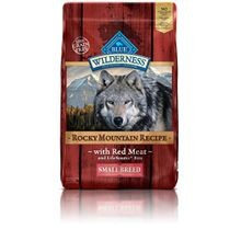 Wilderness Adult Rocky Mtn Recipes Red Meat Small Breed Grain Free Dog Food - 10 lb