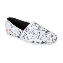 Ladies' Bobs Plush Dream Doodle Flats