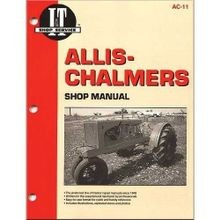 Shop Manuals For Allis-Chalmers Tractors
