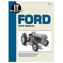 Shop Manuals For Ford Tractors