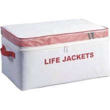 Type II Adult Keyhole Life Vest with Clear Storage Bag