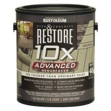 Cape Cod Gray 10X Restore Deck Coating (1 Gallon)
