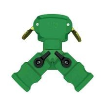 Gator Lock Quick Female Coupler With 2 Male Adapters and On/Off Valves