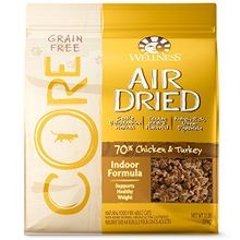 CORE Grain Free Air Dried Chicken & Turkey Indoor Formula Dry Cat Food 2 lb