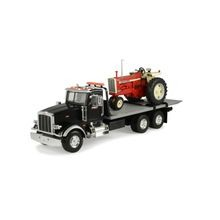 Peterbilt Model 367 Delivery Truck With Roll Off and IH Tractor 1:16 Scale