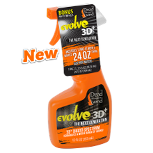 Evolve 3D+ The Next Generation Odor Eliminating 12 oz Field Spray & Pac-It Refill Mix