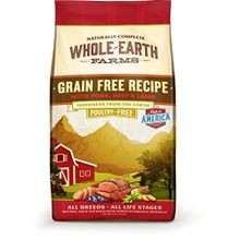Whole Earth Farms Grain Free Recipe Dry Dog Food, Pork, Beef & Lamb