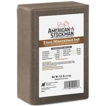American Stockman® Trace Mineralized Salt Brick