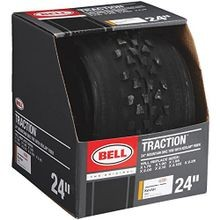 Kevlar Mountain Bike Tire, Black,  24